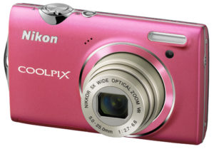 nikon-COOLPIX-S5100-point-and-shoot-digital-camera-pink