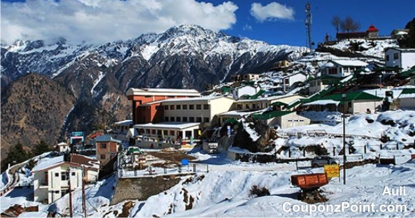 Auli Tourist Place in India