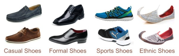 defining mens footwear shoes boots floaters slippers