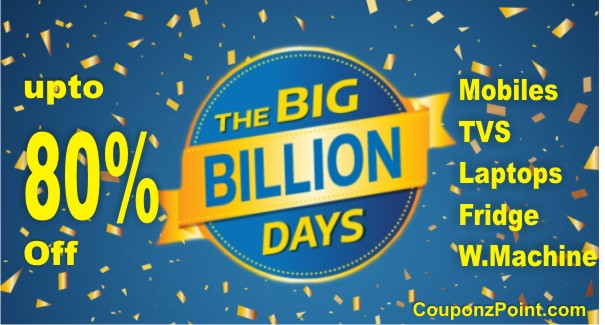 Flipkart Big Billion Days Festival offers