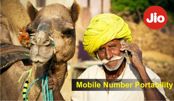 Mobile Number Portability to Reliance Jio4g