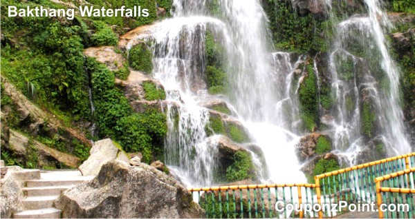 bakthang waterfalls gangtok sightseeing tourist places