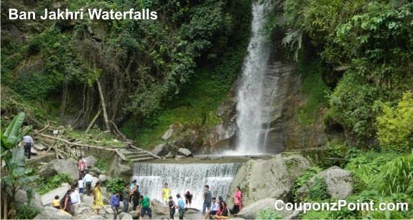ban Jakhri Waterfalls gangtok sightseeing tourist places