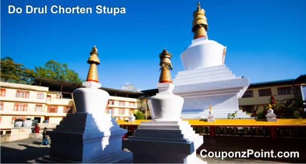 do drul chorten stupa gangtok sightseeing tourist places