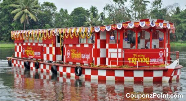 floating mall tourist places in alleppey