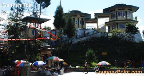 ganesh tok gangtok sightseeing tourist places
