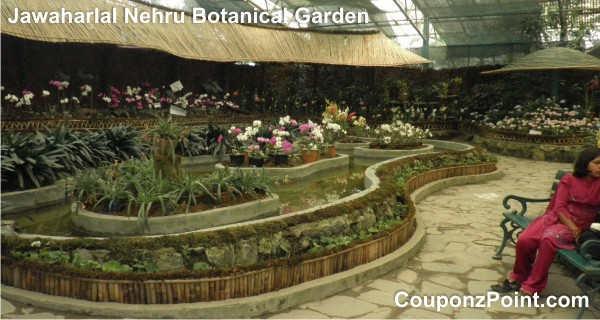 jawaharlal nehru botanical garden gangtok sightseeing tourist places