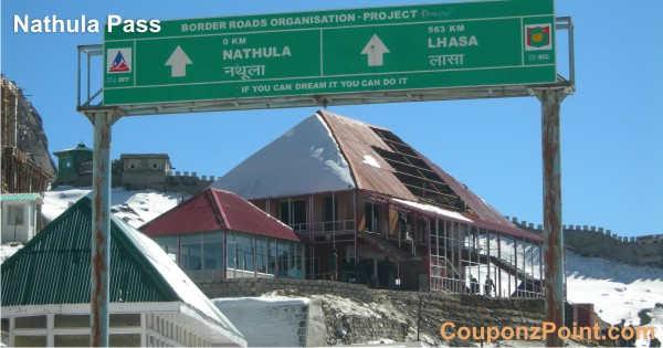 nathula pass gangtok sightseeing tourist places