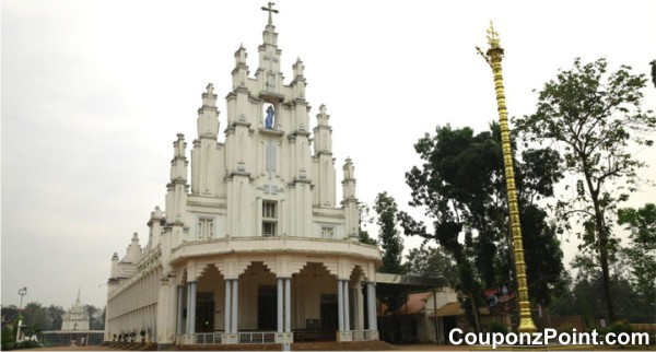 saint mary forane church tourist places in alleppey