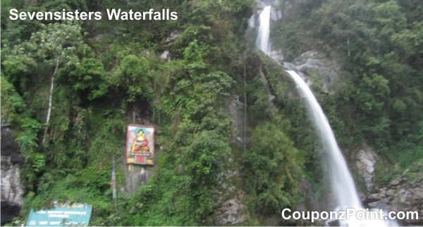 seven sisters waterfalls gangtok sightseeing tourist places