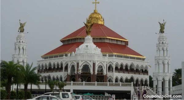 st. george syro malabar catholic forane church edappally tourist places to visit in kochi kerala india