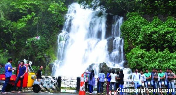 Valanjanganam Waterfalls Kuttikanam