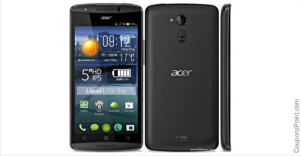 Acer Liquid e700 Three Sim Mobile Phone