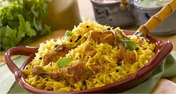 Hyderabadi Dum Biryani Hyderabadi Chicken Biryani Recipe
