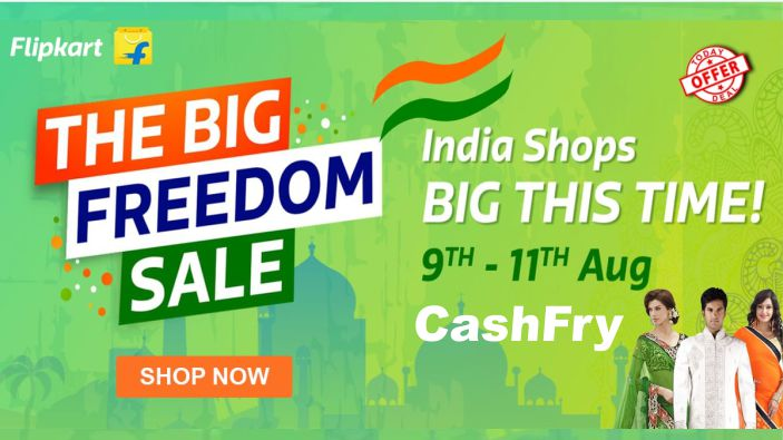 The Big Freedom Sale Flipkart