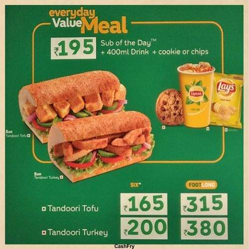 Subway Menu-6