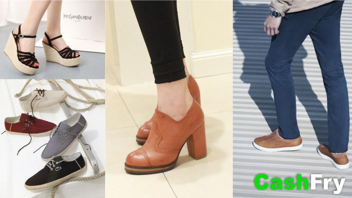 Types of Womens Footwear