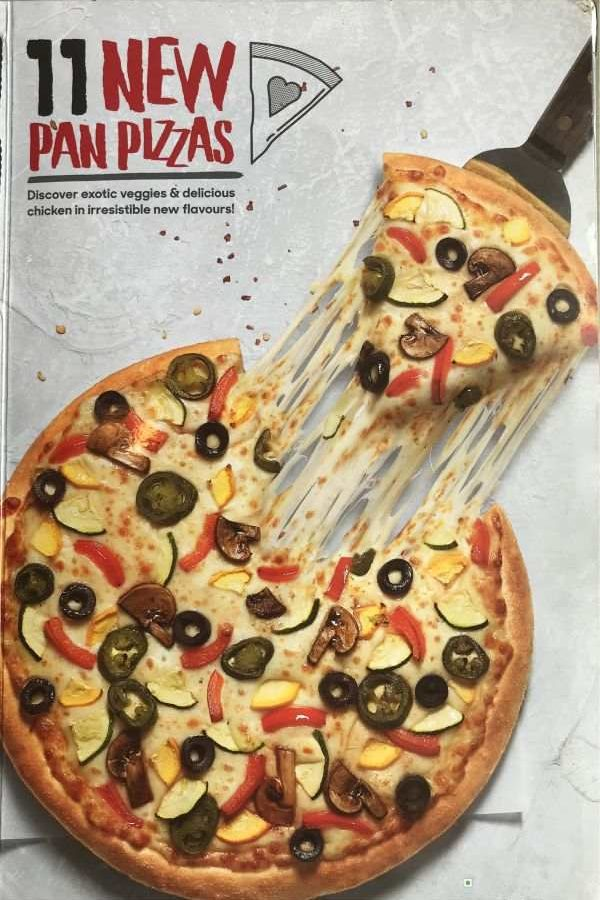 Pizza Hut Menu Pizza Hut India Menu Card Prices Every Day New Pan Pizza