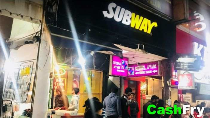 Subway Menu with Prices in India Sector 14 Gurugram