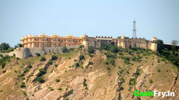 Nahargarh Fort Birds Eye View