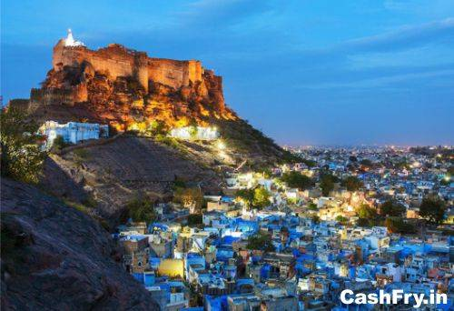 Mehrangarh Fort History Blue Houses