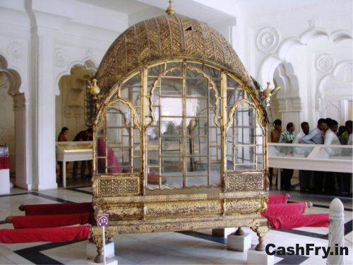 Mehrangarh Fort History Grand Palanquin