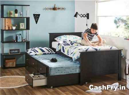 Cheap double beds for sale Amazon trundle beds