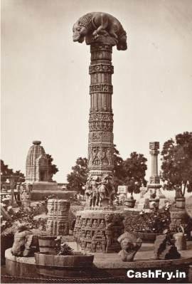 Structure near Teli ka Mandir Gwalior Fort History