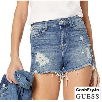 Denim Shorts For Women online Sale Amazon India Promo Codes Guess
