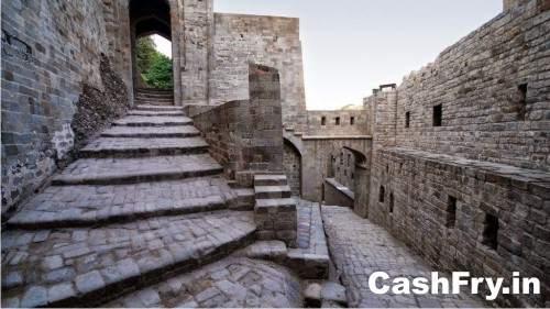 Kangra Fort History Stares