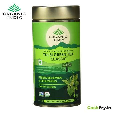 Organic India Tulsi Classic Green Tea