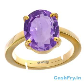 Valentine Day Gifts for Husband India Gold Plated Rings