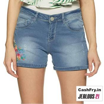 Denim Shorts for Women online Jealous21