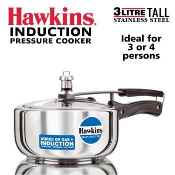 Buy Hawkins Stainless Steel Pressure Cookers 3 Litres-B002MPQH8U