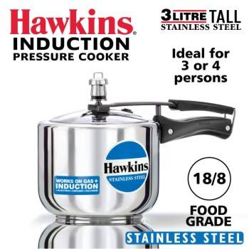 Buy Hawkins Stainless Steel Pressure Cookers 3 Litres-B00F3ECE6G