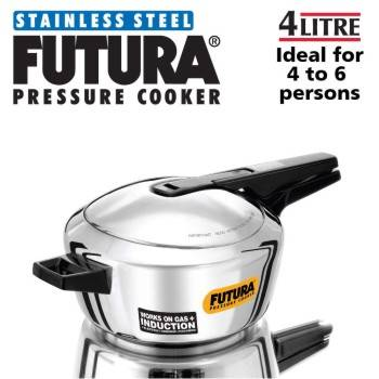 Buy Hawkins Stainless Steel Pressure Cookers 4 Litres-B00F3EC5E2