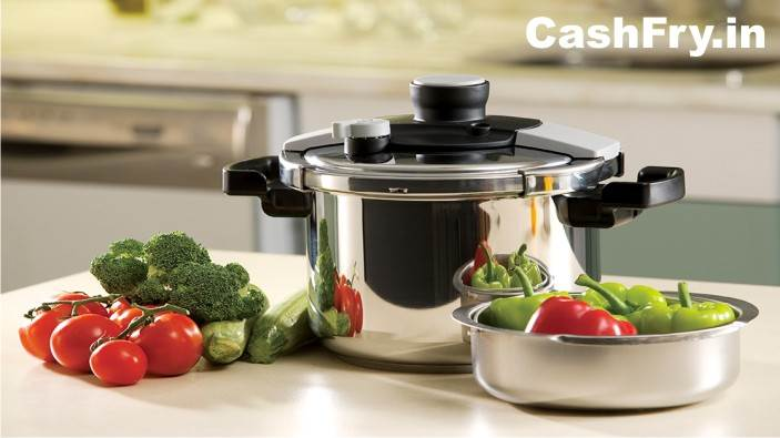 Exchange Offers Hawkins Stainless Steel Pressure Cookers