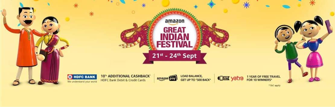 Amazon Great Indian Festival Sale Couponzpoint.com