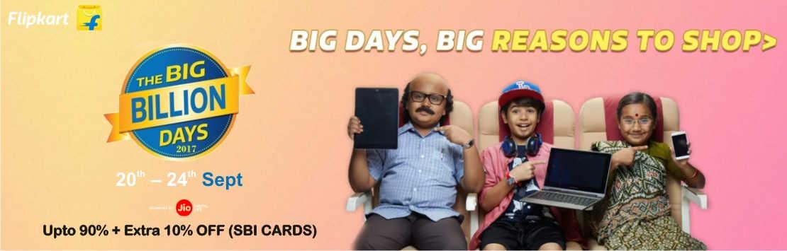 Flipkart Big Billion Days Sale Couponzpoint.com