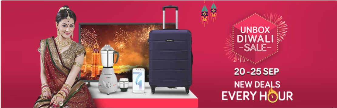 Snapdeal Unbox Diwali Sale Couponzpoint.com