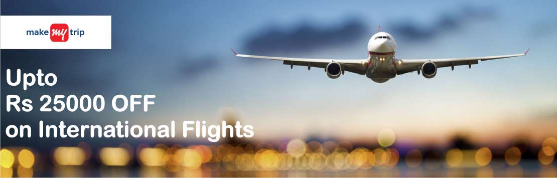 Makemytrip International Flights Coupons Couponzpoint.com