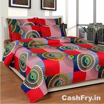 Double Bed Sheet Amazon Shree Fashion
